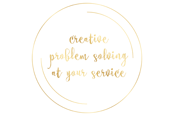 Creative problem solving at your service.